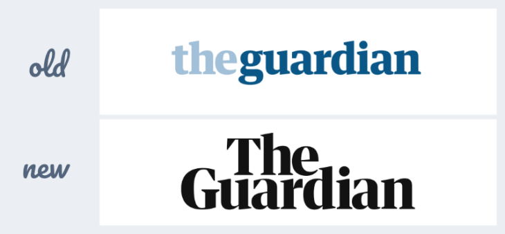 redesign the guardian logo
