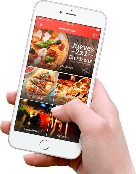iphone app para restaurante
